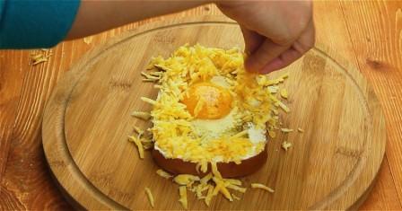 бутерброд з яйцем рецепт приготування