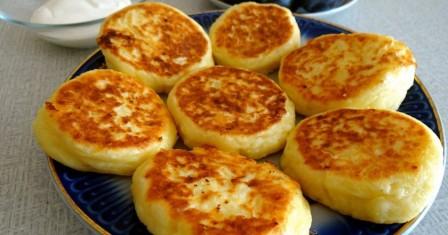 сирники без манки рецепт приготування