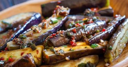 баклажани по китайськи рецепт приготування