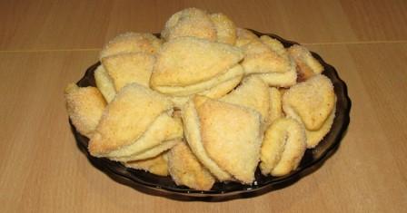 печиво «сирні трикутники» рецепт приготування