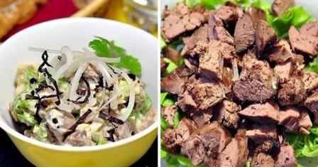 салат з курячою печінкою рецепт приготування