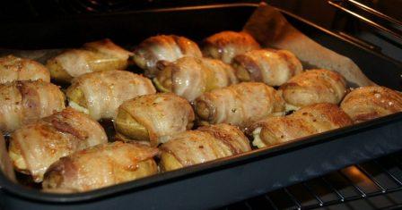 картопля з беконом рецепт приготування