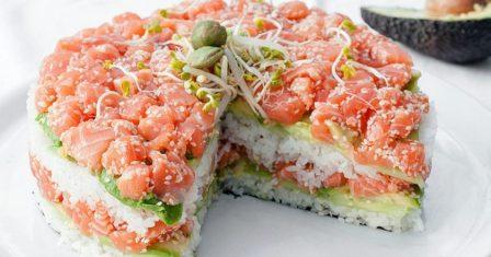 салат «суші» рецепт приготування