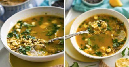лимонний суп рецепт приготування