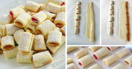 печиво з повидлом рецепт приготування