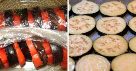 баклажани з помідорами на зиму рецепт приготування
