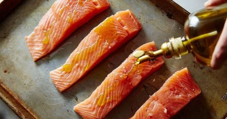 лосось, запечений в духовці рецепт приготування