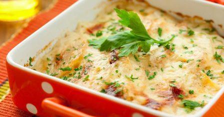 картопляна запіканка з сиром рецепт приготування