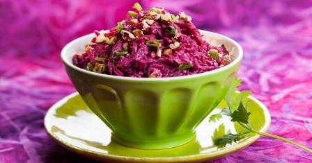 салат з буряка з сиром рецепт приготування