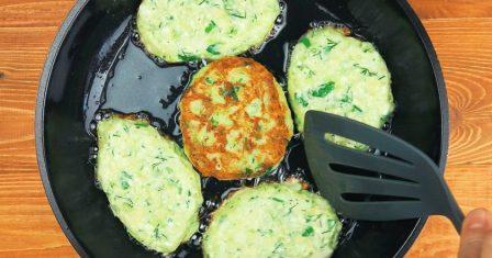 кабачкові оладки рецепт приготування