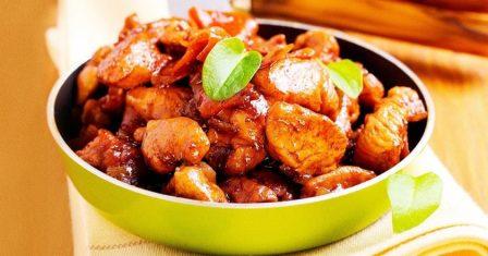 курка в соєвому соусі рецепт приготування