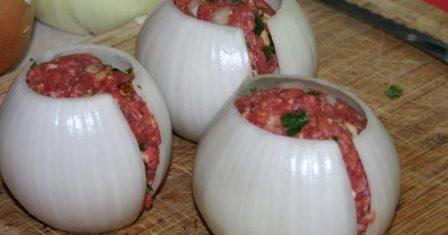 цибульно м'ясні кульки рецепт приготування
