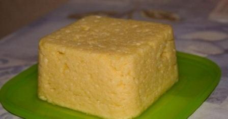 домашній сир твердий рецепт приготування