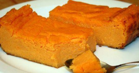 морквяна запіканка рецепт приготування