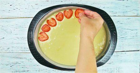 пиріг з полуницею рецепт приготування