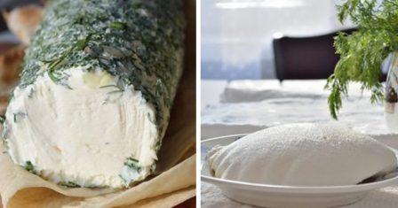 домашній сир вершковий рецепт приготування