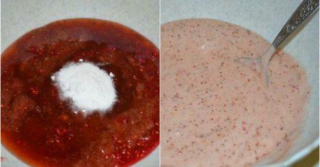 пиріг на кефірі з варенням рецепт приготування