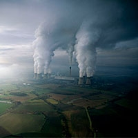 концентрація вуглекислого газу в атмосфері досягла рекордної позначки
