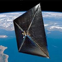 космічний корабель з сонячним вітрилом понесе у космос днк артура кларка