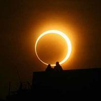 у неділю відбудеться рідкісне гібридне сонячне затемнення