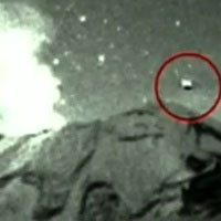 мексиканський телеканал показав ролик посадки нло в жерло вулкана