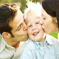 у часто цілуються батьків здорові діти