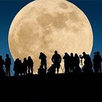 у ніч на неділю жителі землі стануть свідками «супер місяця»