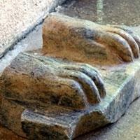 на півночі ізраїлю виявили фрагмент давньоєгипетського сфінкса