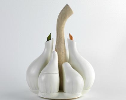 дерев'яні вази фото