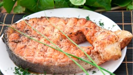 как жарить мясо лосося