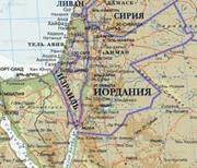 Де знаходиться Йорданія?