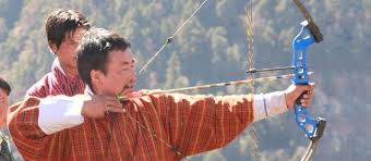 Який національний вид спорту в Бутані?
