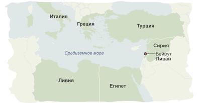 В які країни біжать біженці з Сирії?
