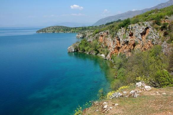 Чим знамените Охридське озеро?