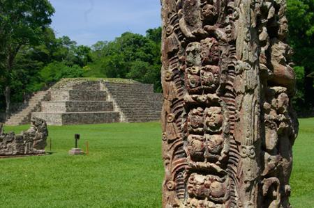 Копан   стародавнє місто майя в Гондурасі