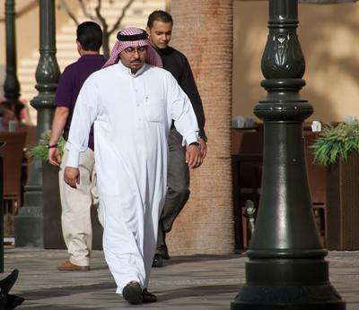 Як одягаються араби?
