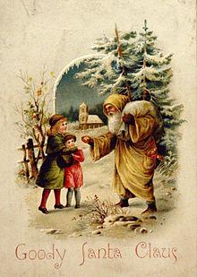 Хто придумав Санта Клауса?