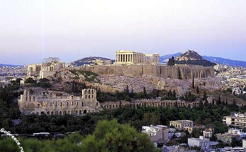 Історія грецького міста Афіни